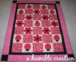 ladybug quilt patterns - Google Search | baby quilts | Pinterest ... & ladybug quilt patterns - Google Search Adamdwight.com