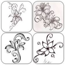 Small Picture Simple Designs To Draw On Paper Simple flower drawing cutting