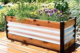 marvelous galvanized steel garden beds raised garden beds plans galvanized steel garden beds canada