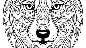 Wolf Coloring Page Adults Pages Realistic Winged Enchanting For Adu