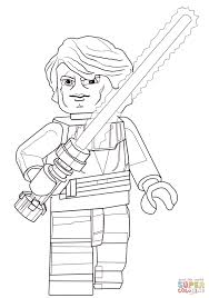Small Picture Lego Star Wars Anakin Skywalker coloring page Free Printable