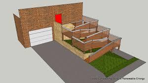1600x898 cad drawing final design exterior wooden wheelchair ramp ada