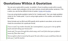 011 Quote Essay Quotation How To And Cite Play In An Mla Format