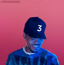 Coloring Book Album Cover Poster Chance The Rapper S Album Art