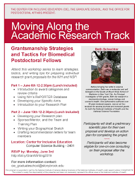 Graduate School Grant Writing Workshop Grantsmanship