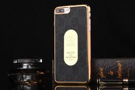 gucci 7 plus case. gucci iphone 6/6s/7 plus,galaxy s6/s7 edge/s8 plus/note 5 hard cover case w mirror - black 7 plus e