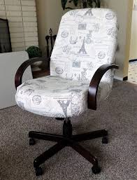 office chair makeover. office chair makeover before and after
