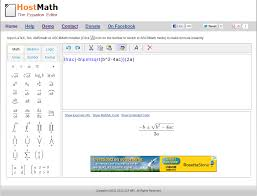 latex formula editor and browser based math equation editor