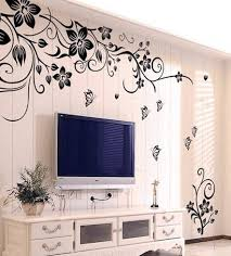 easy decoration ideas removable wall