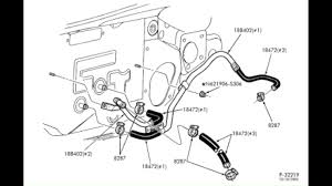 93 Lincoln Town Car Fuse Box Diagram   Wiring Diagram additionally Blower motor quit  Any tips on testing connections in addition How to remove lower radiator hose on 1994 Ford Ranger XLT 4 cyl  I as well Vents are dead   Ford Bronco Forum in addition Water Pump To Metal Heater Supply Tube Hose  86 93  5 0 E6SZ 18472 further writeup  '89 '94 heater core replacement   YotaTech Forums moreover Repair Guides   Vacuum Diagrams   Vacuum Diagrams   AutoZone likewise Aerostar Engine Diagram  Wiring  All About Wiring Diagram moreover Fuel vapor return tube connection   '93 Taurus GL 3 0 L Gas besides  together with . on 93 ford heater diagrams