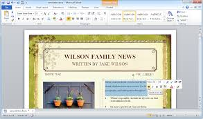 Microsoft Publisher Free Microsoft Publisher Website Templates Free Download Ms Word Web