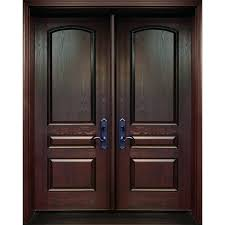 Fiberglass Double Entry Doors S Prehung Exterior Front With Glass ...