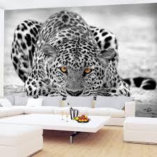 Fototapeten Leopard 352 X 250 Cm Vlies Wand Tapete Wohnzimmer