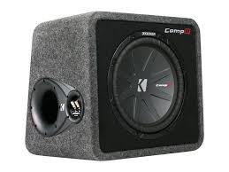 kicker 40vcwr122 single 12 inch compr subwoofer box car audio box design at Car Audio Box