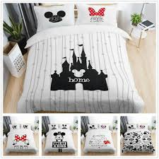 disney mickey minnie mouse bedding set
