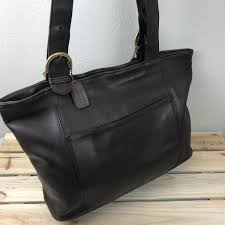 Coach Brown Leather Large Waverly Soho Tote Bag