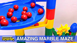 Toddler Learning Colors Fun Marble Maze Teaching Colours For