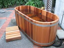 fire hot tubs nz ltd gas or wood fired cedar hot tubs