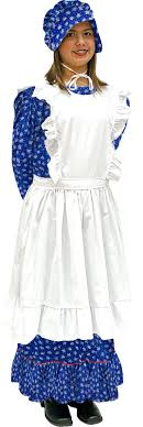 pioneer woman clothing. children\u0027s little house on the prairie dress and apron pioneer woman clothing