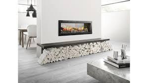 heat glo mezzo logs see through