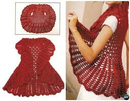 Crochet Circular Vest Pattern Free Enchanting DIY Crochet Circle Vest Free PatternCrochet Circular Vest Sweater