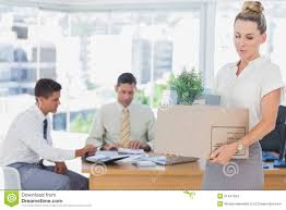 businessw leaving office after being fired stock images businessw leaving office after being fired