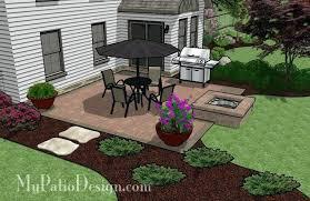 square patio designs. Patio Designs With Fire Pit Square Design Sq Ft Brick Ideas . P