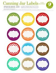 printable labels for mason jars finally found free and cute canning labels you can type in no