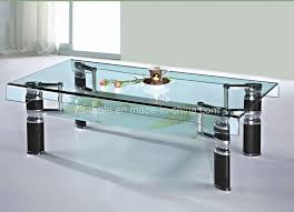 Glass Table For Living Room Amazing With Photos Of Glass Table