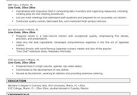 Chef Job Description Resume Cook Job Description For Resume Resume Online Builder 86