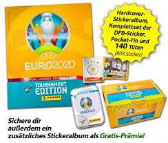 Panini uefa euro 2020 andreas granqvist mezzanine prizm #147. Euro 2020 Offizielle Stickerkollektion Hardcover Collector S Bundle