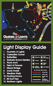 Wps Garden Of Lights Wps Garden Of Lights At Green Bay Botanical Gardens Is A Not