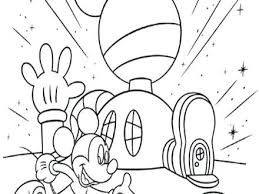 Free Printable Mickey Mouse Clubhouse Coloring Pages At Getcolorings