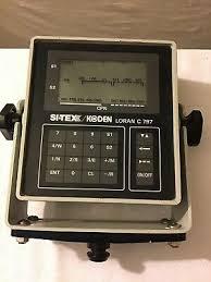 Si Tex Ez 7 Loran C Receiver Boat Navigation System 49 99