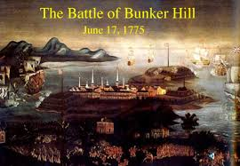 hist unit rev html  painting of the battle of bunker hill