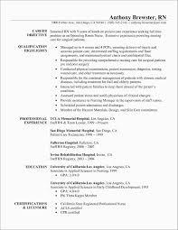 Registered Nurse Resume Template Free Astonishing Rn Resume