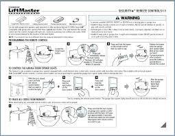 liftmaster garage door opener reset garage door opener manual 1 3 hp