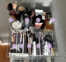 1) Face brushes and Q-tips