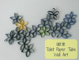 Toilet Paper Roll Art Toilet Paper Roll Wall Decoration
