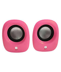 speakers pink. iball sound wave 2.0 speakers - pink p
