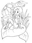 Игра раскраска для девочек феи