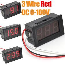 voltage meter wiring diagram wiring library wire red led digital display voltage meter wiring diagram panel voltmeter reverse polarity protection meters