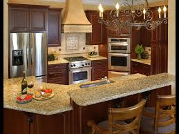 Elegant Tuscan Kitchen Cabinet Design With Chandeliers