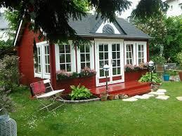 Schwedenrot Stilvoll Die Schönsten Schwedenhaus Gartenhäuser