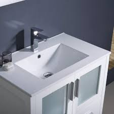 modern bathroom undermount sinks. Fresca Bath FVN6230WH-UNS Torino 30\ Modern Bathroom Undermount Sinks K