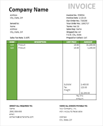 Tours And Travels Bill Format Myvacationplan Org