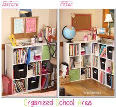 Organizing Living Room Homeschool Organization Our Newly Organized School Room