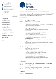 Resume 14 Professional Resume Template Initials .