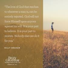 God Quotes About Love 100 Quotes from Billy Graham on the Love of God Notes from the Cove 51