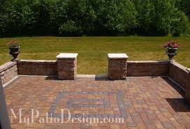 Small Picture Symmetrical Seat Wall Ideas 2 Slate Patios Pinterest Wall